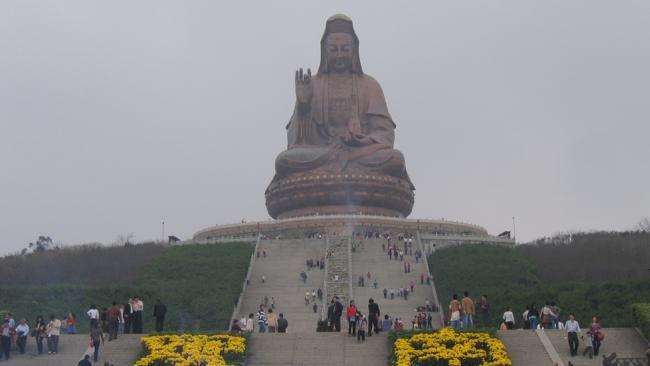 Tượng Quán Thế Âm ở Quảng Đông, Trung Quốc,