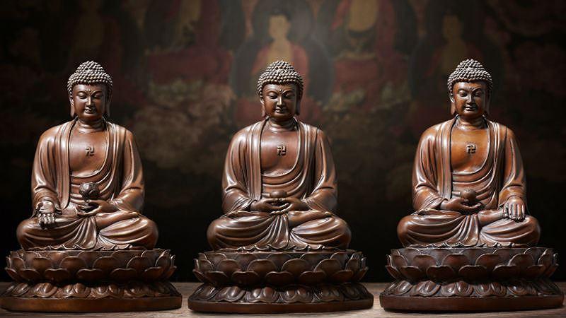 tam thế Phật 3