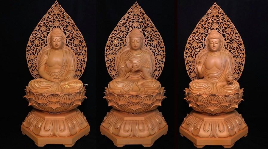 tam thế Phật